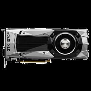 nVidia GeForce GTX 1070 Ti Founders Edition Ethereum Mining